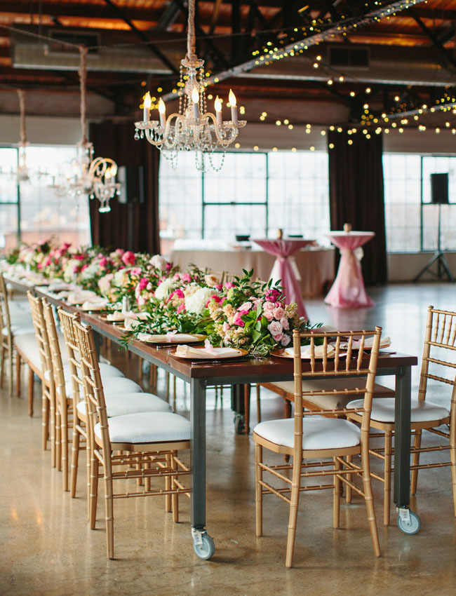 Whimsical Pink + Gold Dallas Wedding: Emily + Eric | Green ...