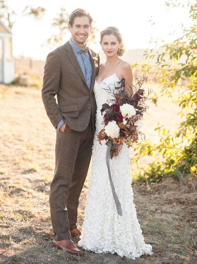 Cozy Fall Wedding Inspiration