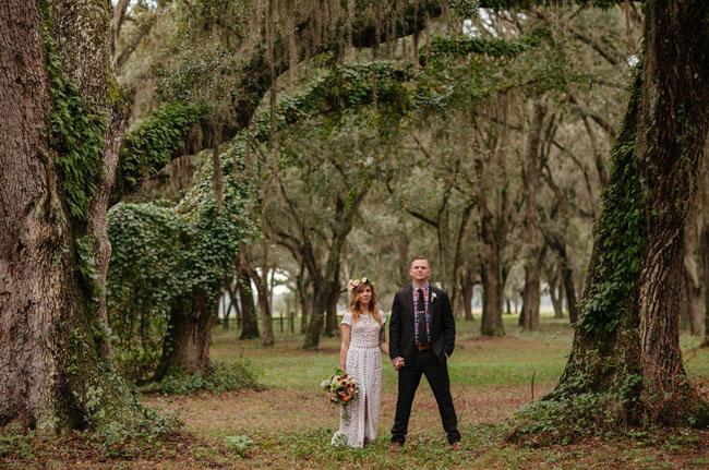 Vintage Inspired Florida Ranch Wedding Jenny Jeff