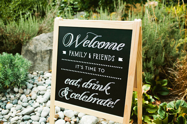 Wedding Reception Welcome Signs