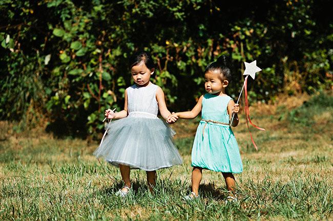 wand flower girls