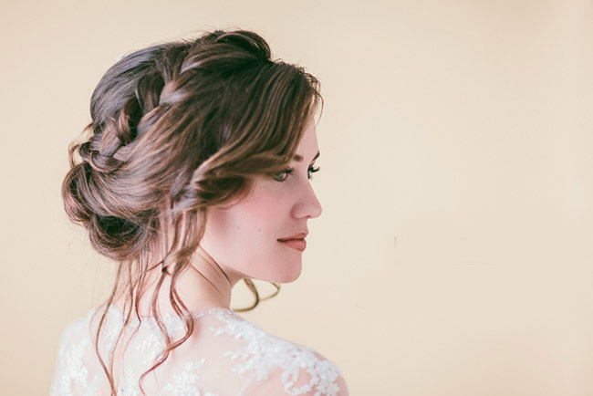 Hair Tutorial: Loose Braided Updo