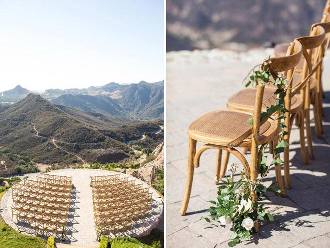 Malibu Rocky Oaks Wedding.Hilltop Vineyard Wedding At Malibu Rocky Oaks Kristin Matt