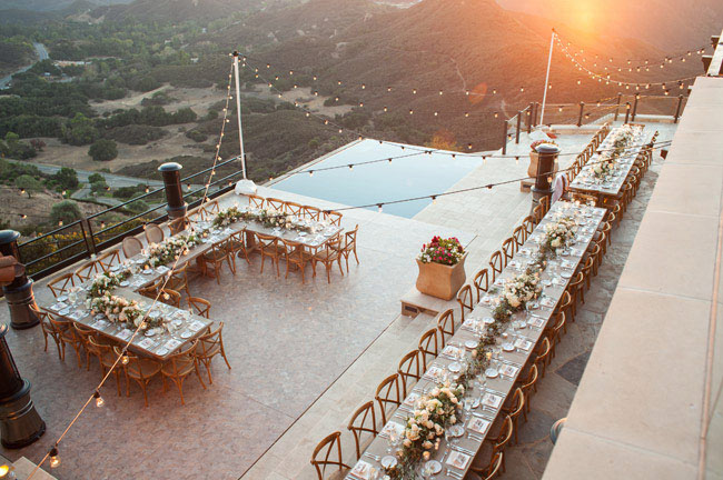 Hilltop Vineyard Wedding At Malibu Rocky Oaks Kristin Matt