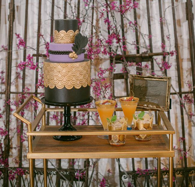 dessert + drink cart