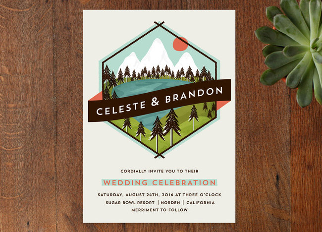 minted_new_2014_07 - Camping Wedding Invitations