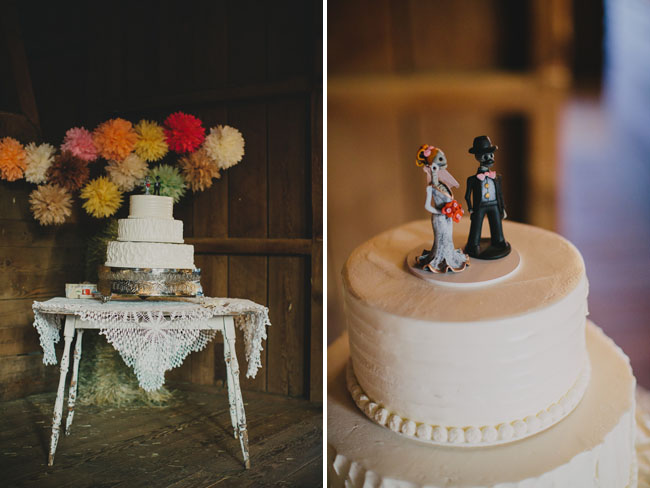 skeleton cake toppers