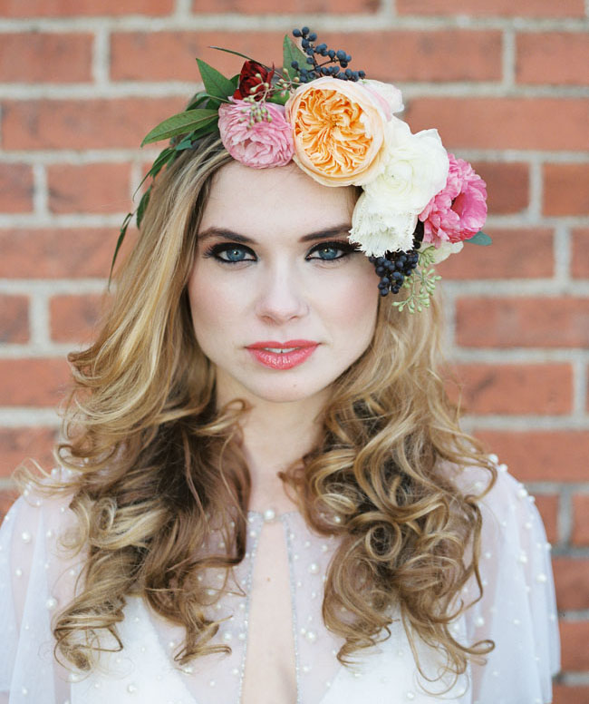 renaissance flower crown