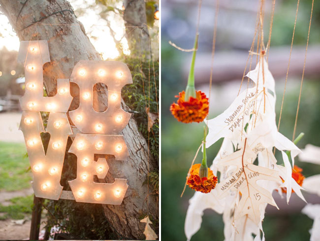 love marquee letters