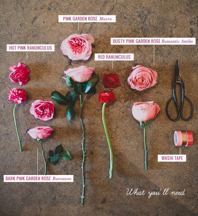 DIY_Fresh_Flower_wall_materials