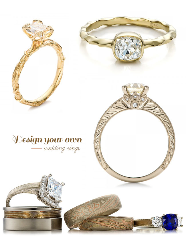design your own wedding ring with joseph jewelry green