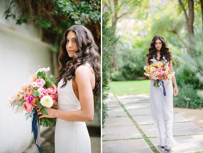 Palms Springs bride
