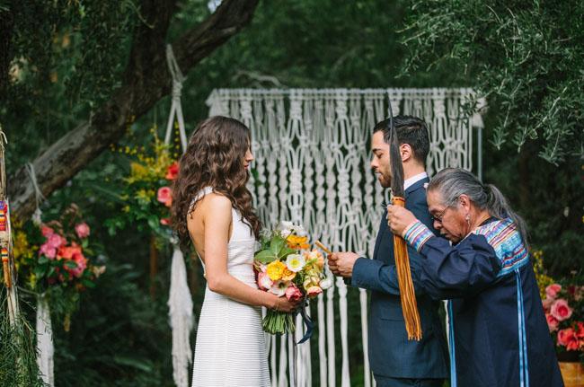 Palm Springs ceremony