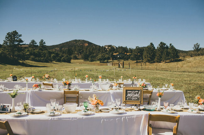 outdoor tablescapes