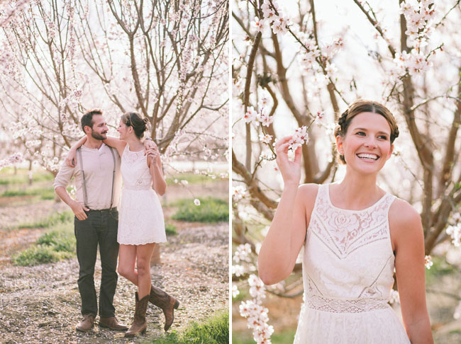 almond blossom engagement