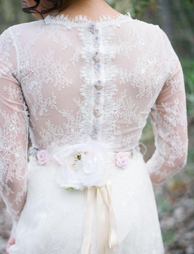 lace backed dress