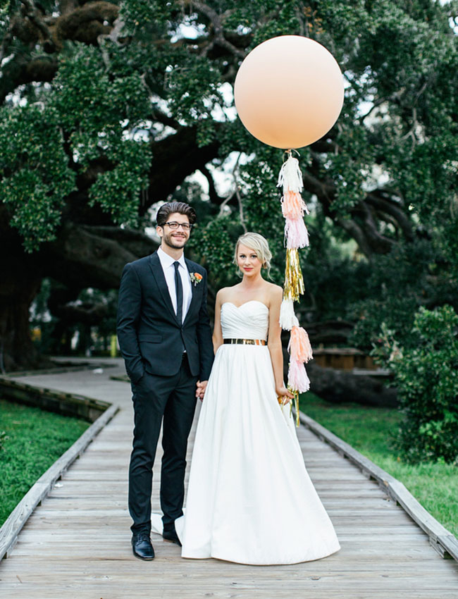 giant balloon tassel