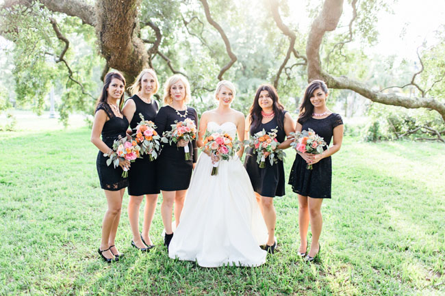 Black Formal Dresses For A Wedding 98 Fresh black and pink bridesmaids