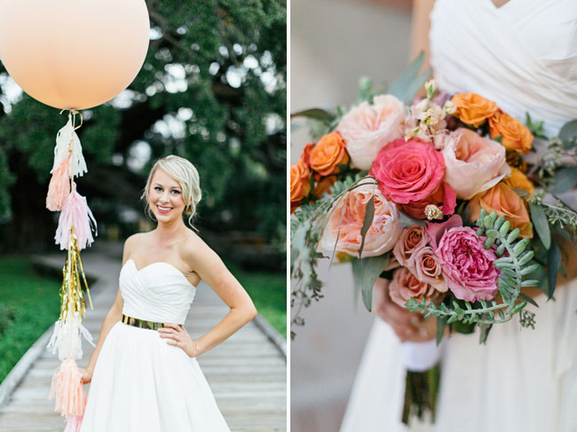 juliet rose pink bouquet