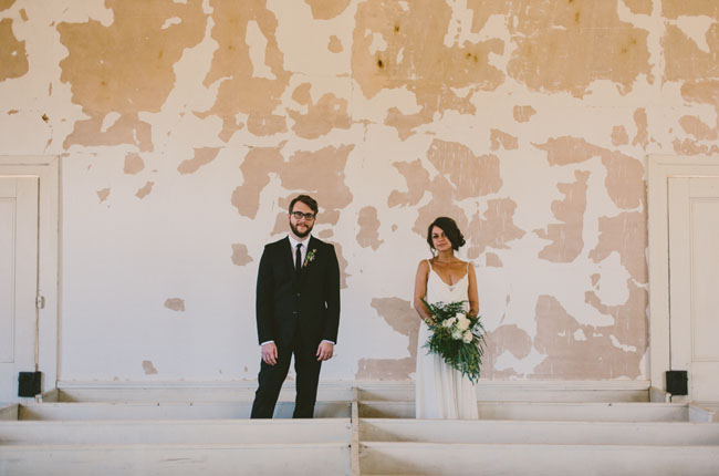 A Wedding at an Abandoned Church: Paige + John