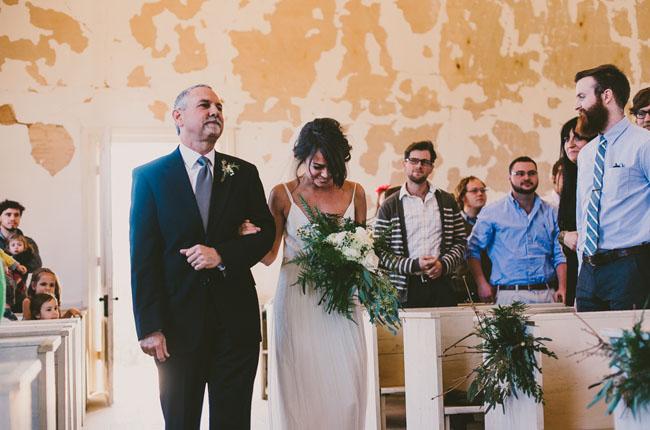 abandoned church wedding