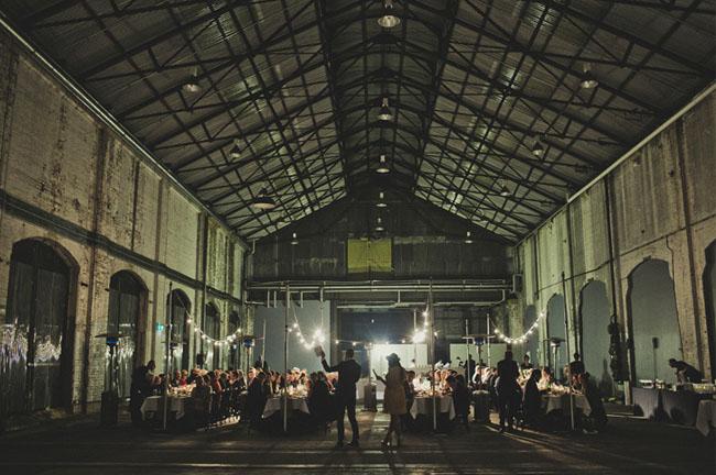 Laid Back Australian Warehouse Wedding Jen Luke