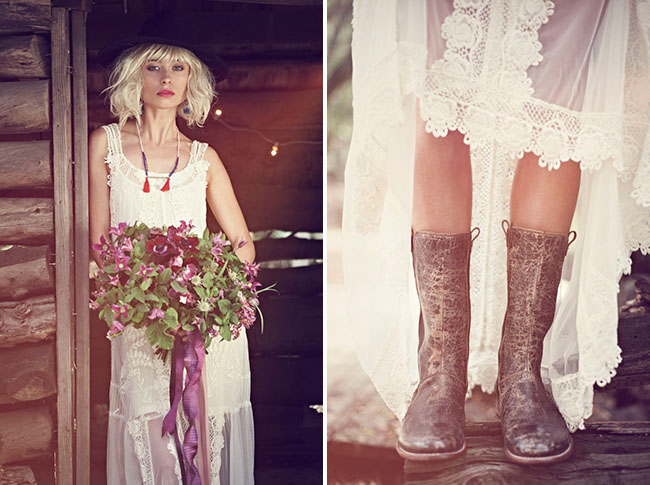 bohemian wedding fashion ideas from free people