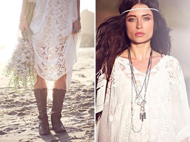 Bohemian Wedding Fashion Ideas from Free People