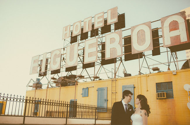 hotel figueroa wedding