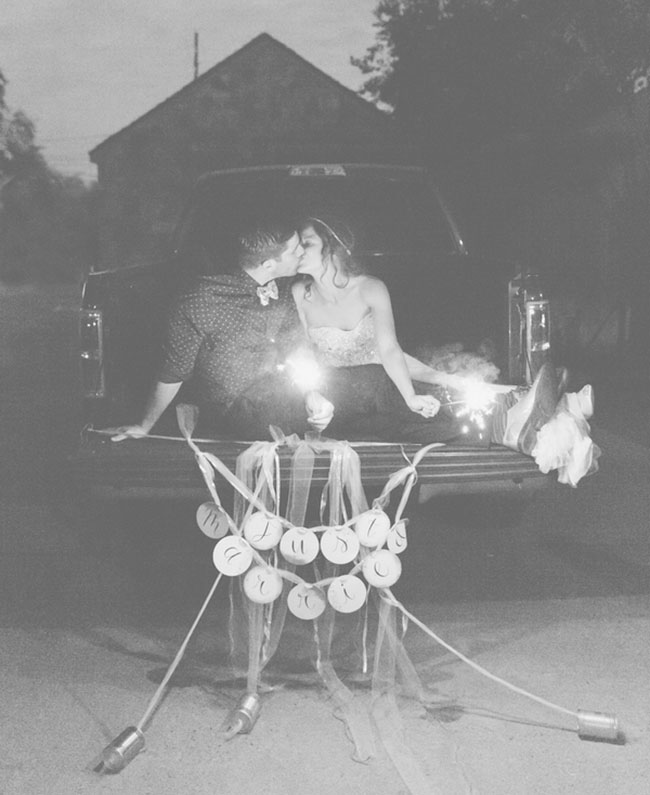 sparklers and signs