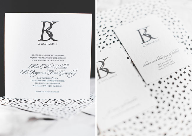 dotted invitation