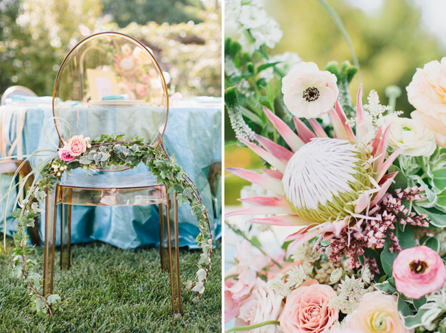flower chair piece