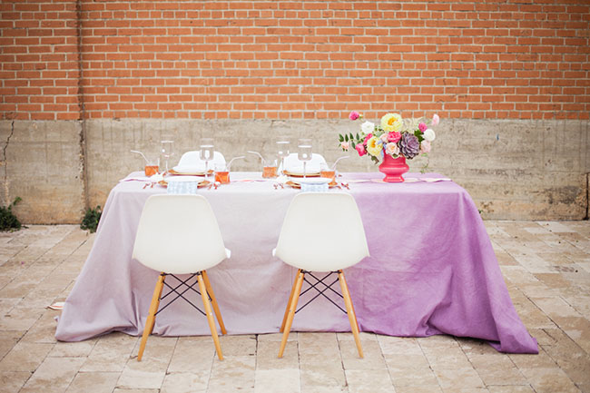 ombre tablecloth