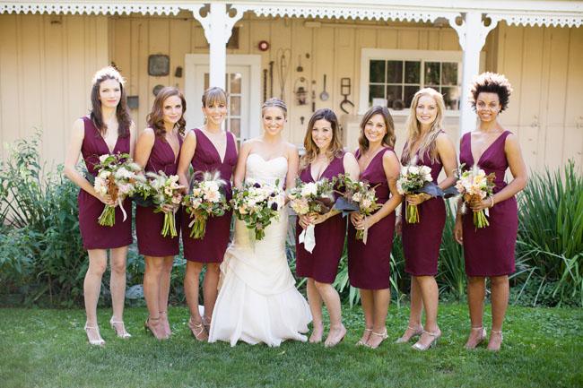 maroon dresses
