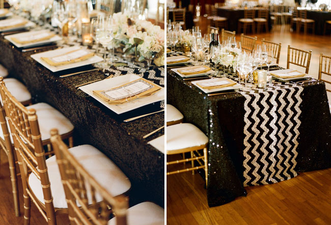 chevron tablecloths