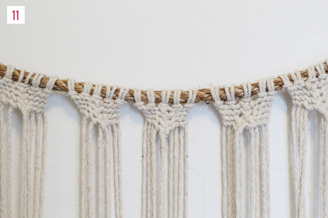 How To Make A Macrame Wall Hanging diy macrame hanging | green wedding shoes | weddings, fashion