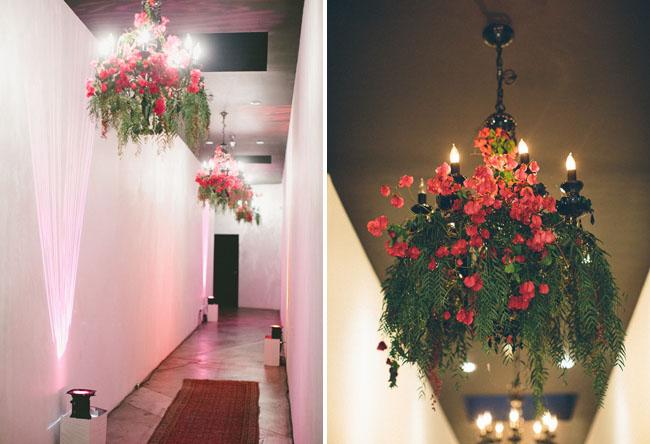 floral hallway