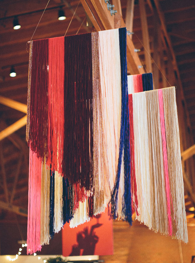 yarn hangings