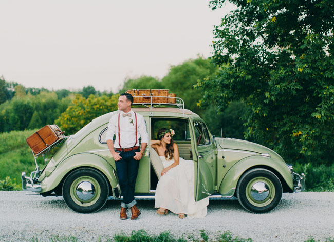 Handmade Canadian Barn Wedding: Katy + Tyler
