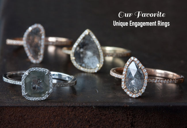 874ff6d47d1ae Unique Engagement Rings + Ring Cleaning Tips from Jewelers Mutual