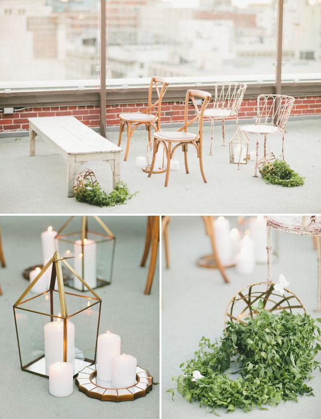 sphere candle votives