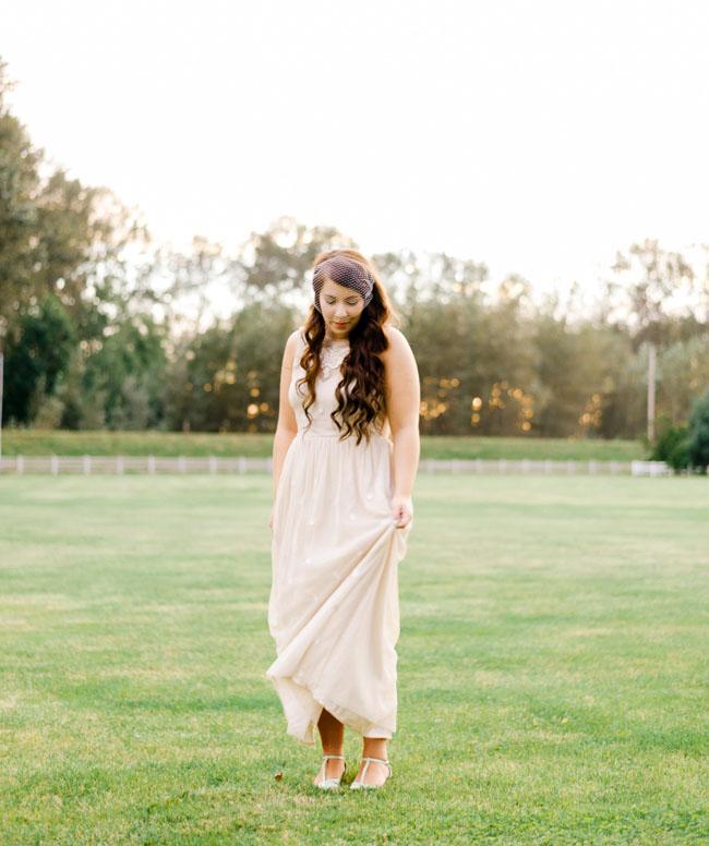 vintage northwest bride