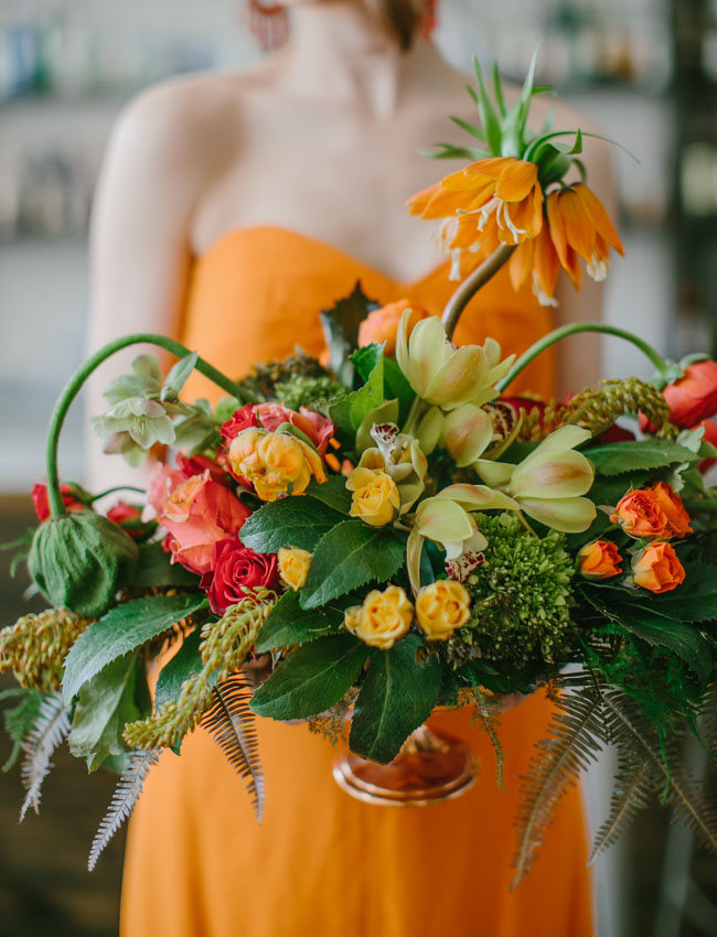 wild orange bouquet