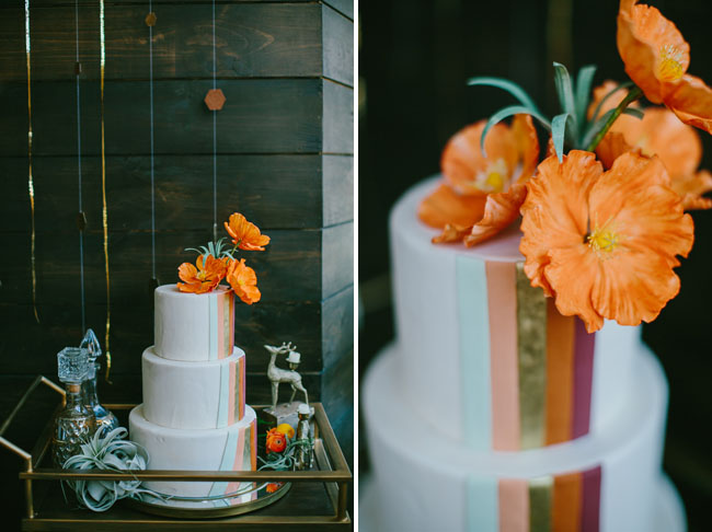orange copper cake