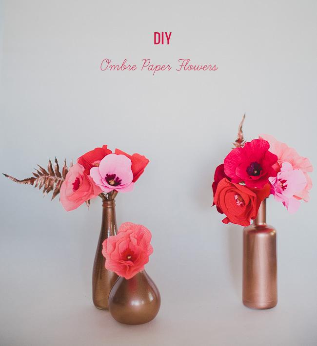 DIY_Ombre_Paper_Flowers