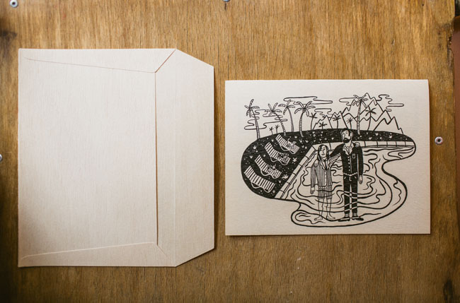 illustration invitation