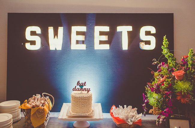 sweets light sign