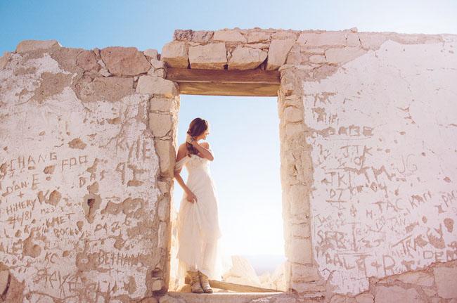 bohemian desert elopement