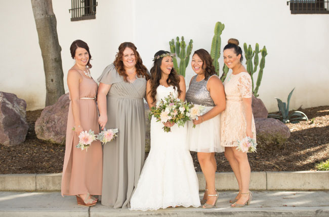 bridesmaids neutral