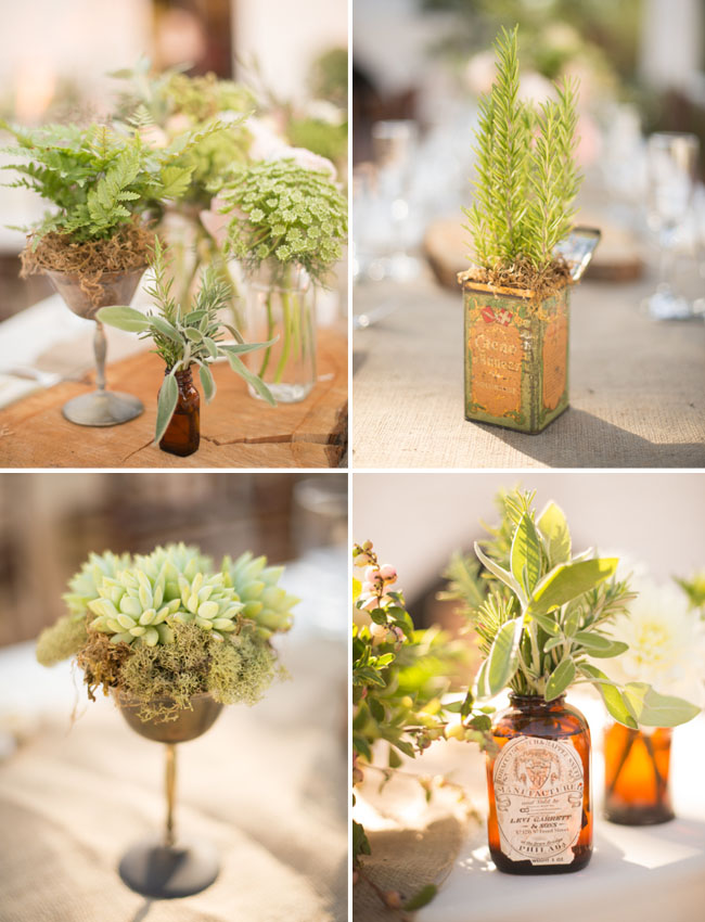vintage tins for florals